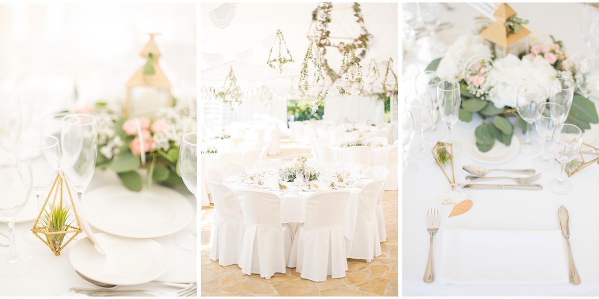 Table mariage Domaine Paradis des oiseaux