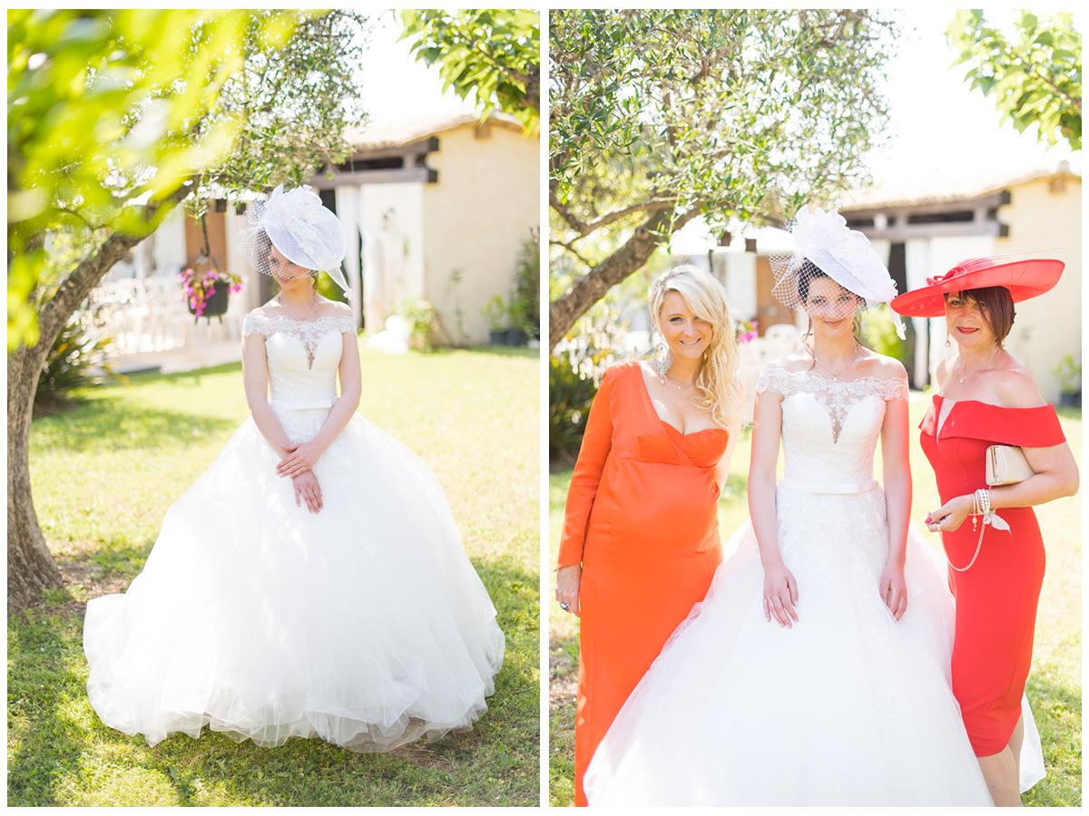 Photo mariage famille