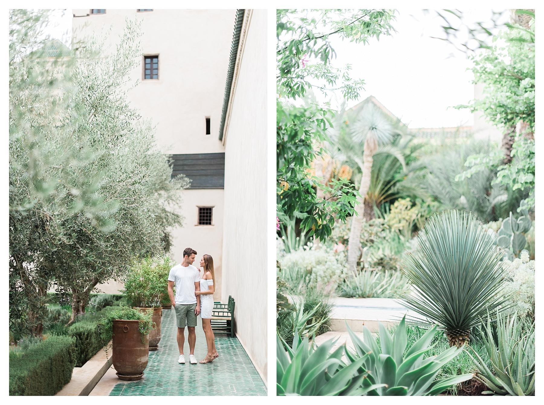 photo couple jardin secret marrakech