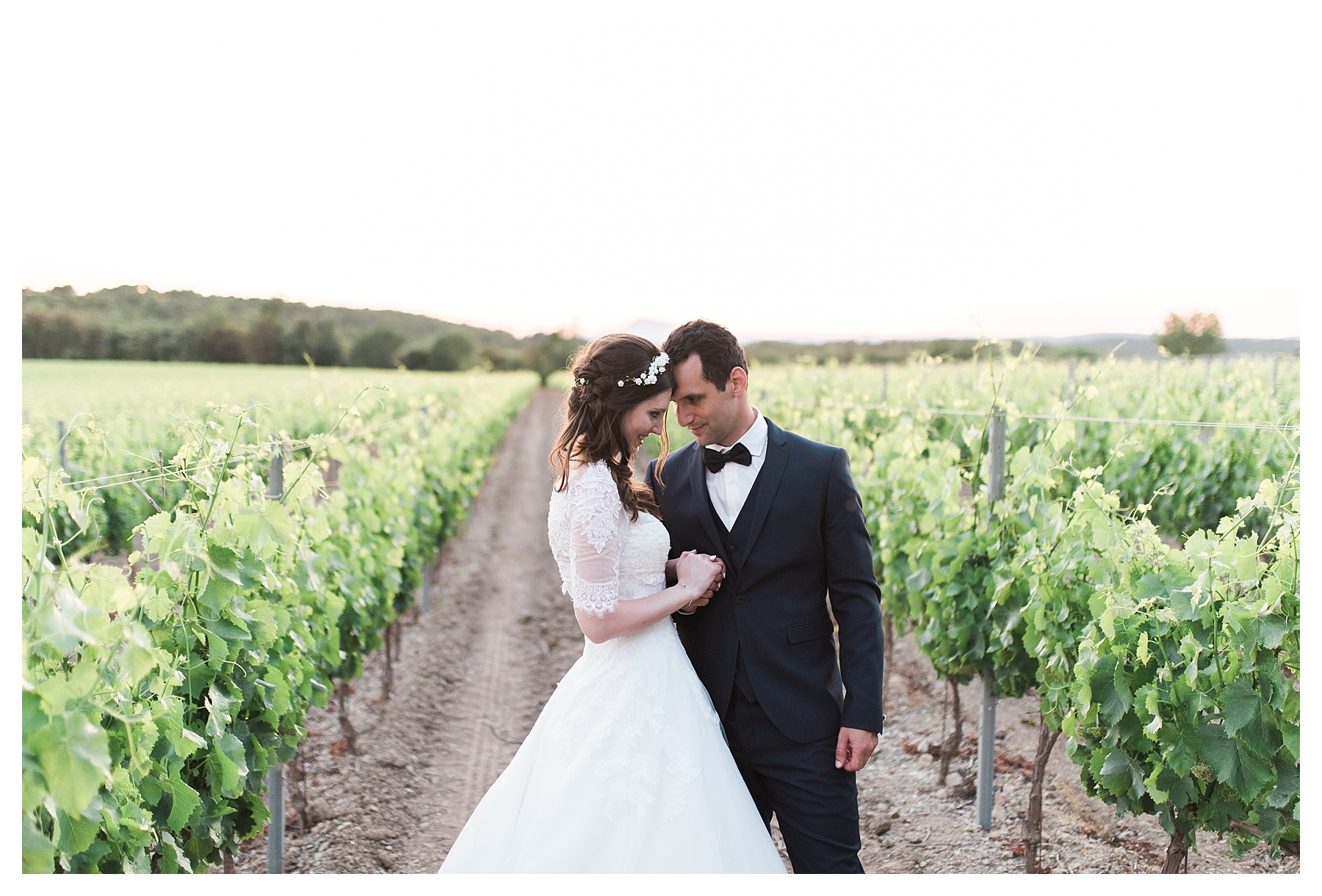 photo couple mariage chateau les crostes
